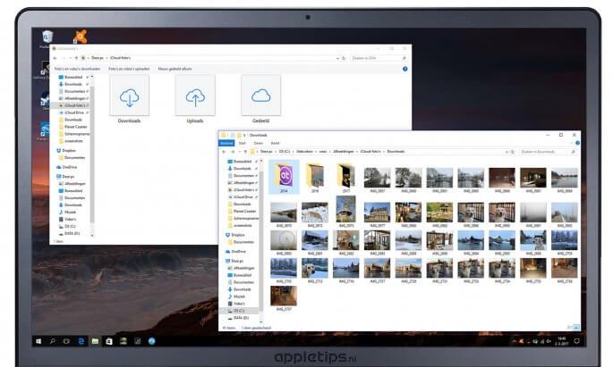 iCloud Drive en iCloud foto's instellen op een Windows PC