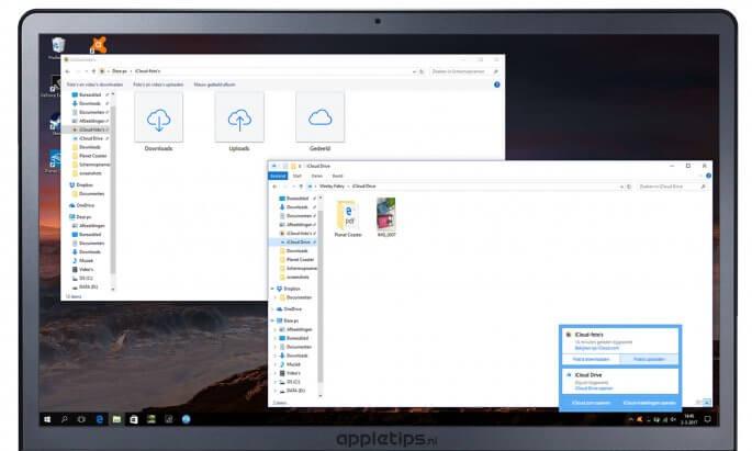 iCloud-foto's gebruiken in Windows