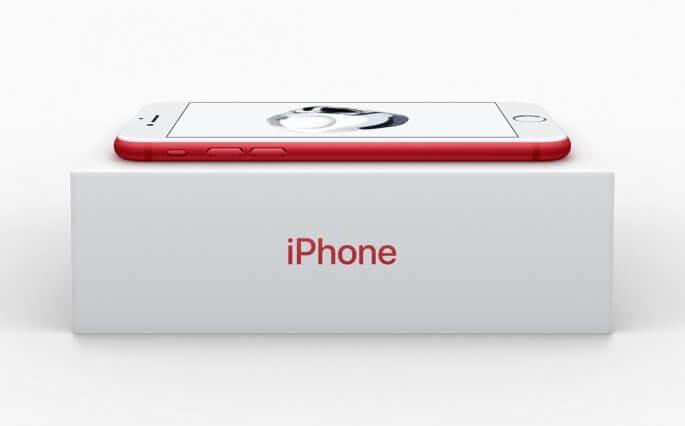 eerste video rode iPhone 7