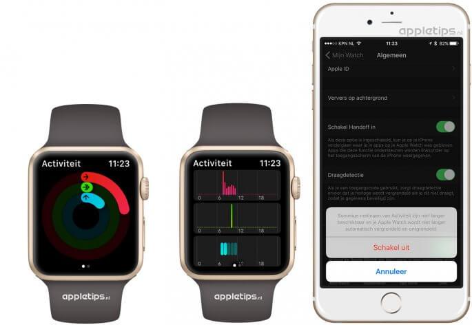 Staan-ring werkt niet meer op de Apple Watch