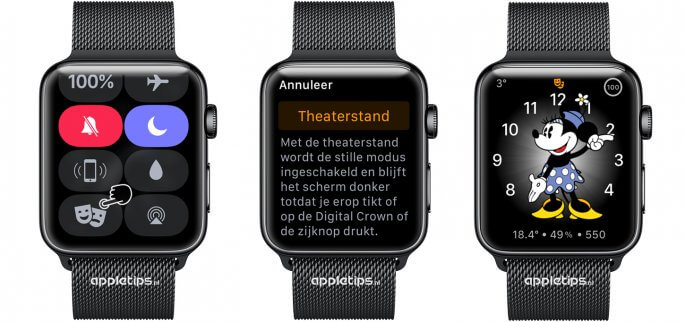 theaterstand apple watch