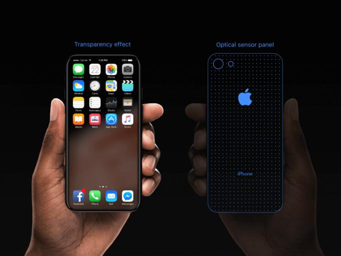 Transparante iPhone 8