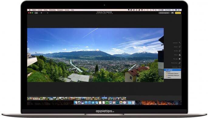 Foto's bewerken met extensies in Foto's voor Mac