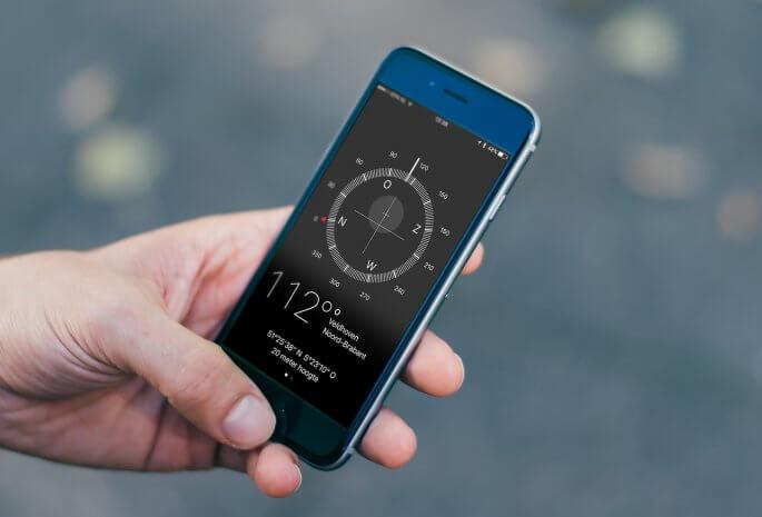 gps-coordinaten iphone