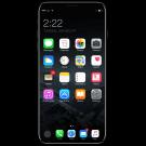 Prachtig concept toont iPhone 8 met iOS 11