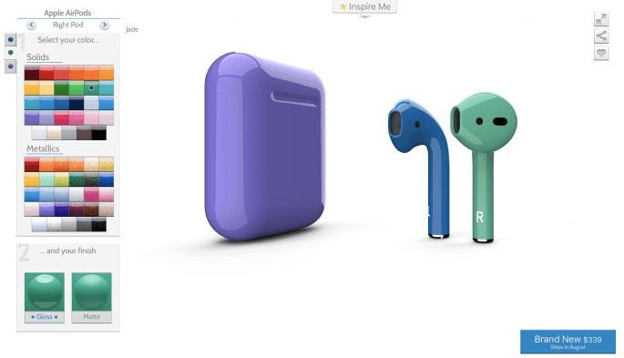 airPods kleuren