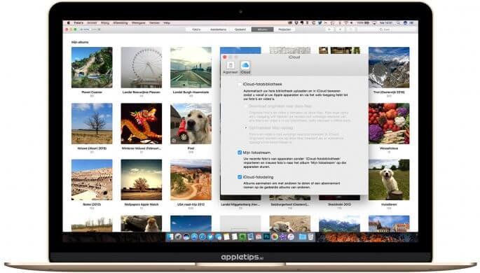 foto's voor mac gebruiken zonder icloud-fotobibliotheek