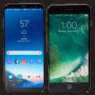 Samsung galaxy s8 en iPhone 7