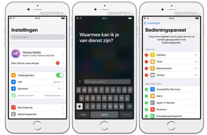 iOS 11 vernieuwingen deel 1