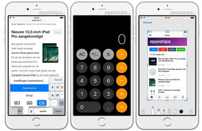 iOS 11 vernieuwingen deel 2