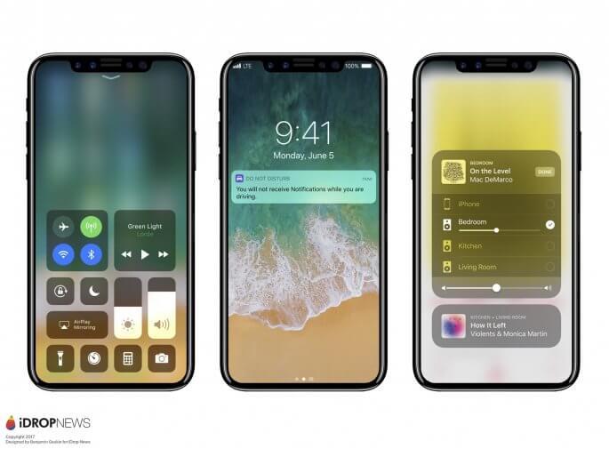 iOS 11 op een iPhone 8 in beeld gebracht