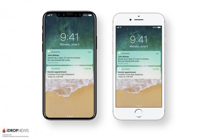 iPhone 8 vergeleken met iPhone 7