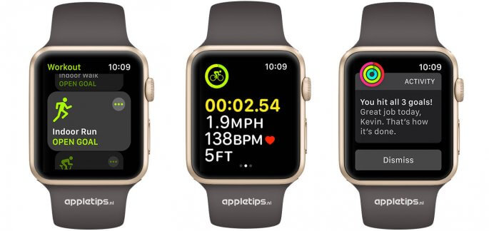 work-out app in watchOS 4