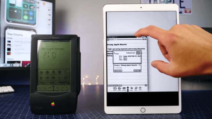 apple newton ipad pro