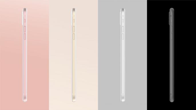 iPhone 8 conceptkleuren
