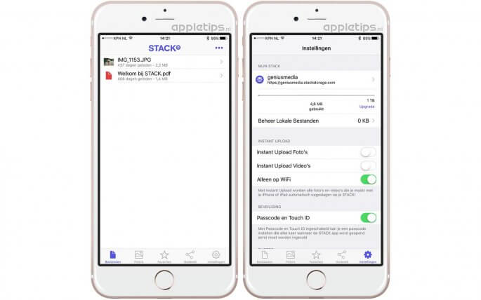 Gratis 1000 gb online opslag op al je apple apparaten appletips - Office opslag tip ...