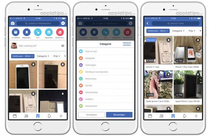 Facebook Marketplace overzicht en meer