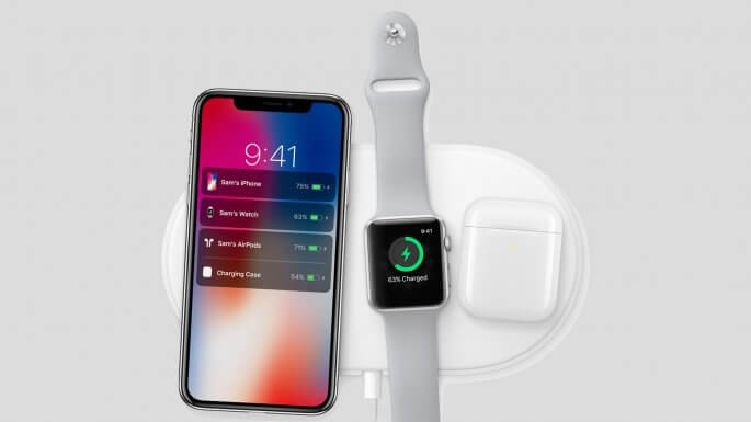 airPower (iPhone X, Apple Watch Series 3, Airpods)