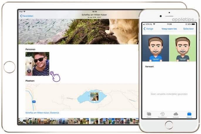 nieuwe Personen toevoegen in  iOS 11