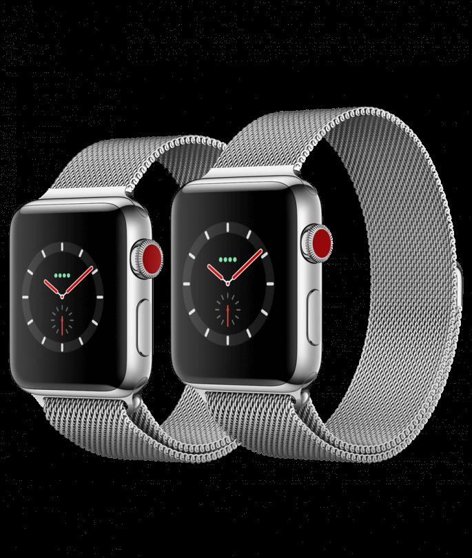 Apple watch series 3 stainless steel