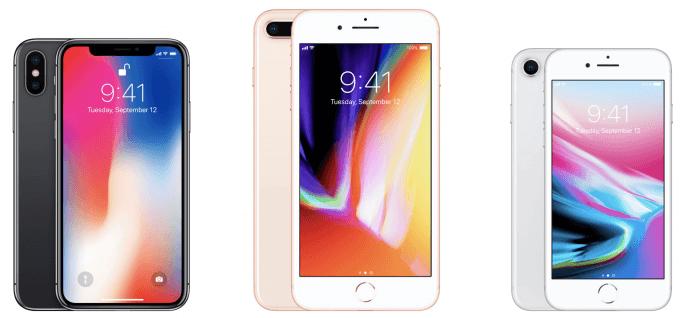 Verschillen iPhone X en iPhone 8 (plus)