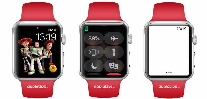 Apple Watch zaklamp vanaf watchOS 4