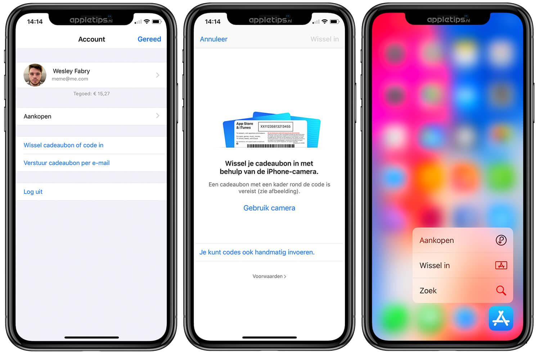 itunes kaart aanbieding 2020 iTunes cadeaukaart inwisselen & iTunes tegoed opwaarderen   appletips