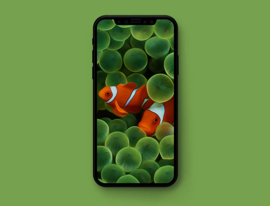 oude ios wallpapers geoptimaliseerd voor de iphone x