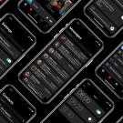 Concept toont donkere modus voor iPhone X