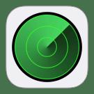 zoek mijn iphone icon