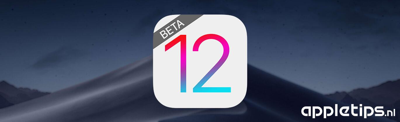 Publieke Beta Ios 12 Macos Mojave En Tvos 12 Appletips