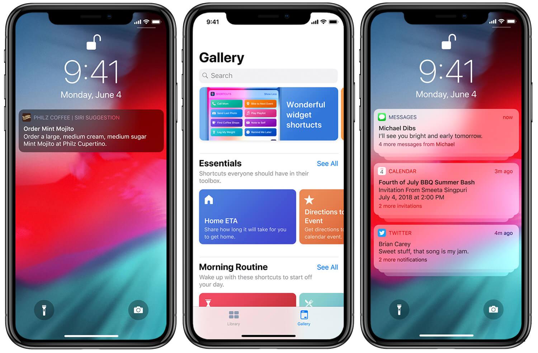 nieuwe update iphone scherm filmen