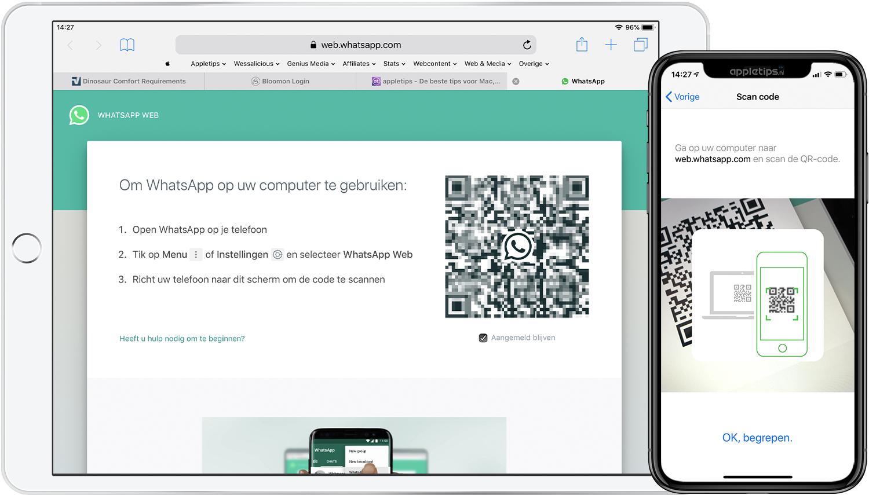Whatsapp Gebruiken Op Een Ipad Appletips