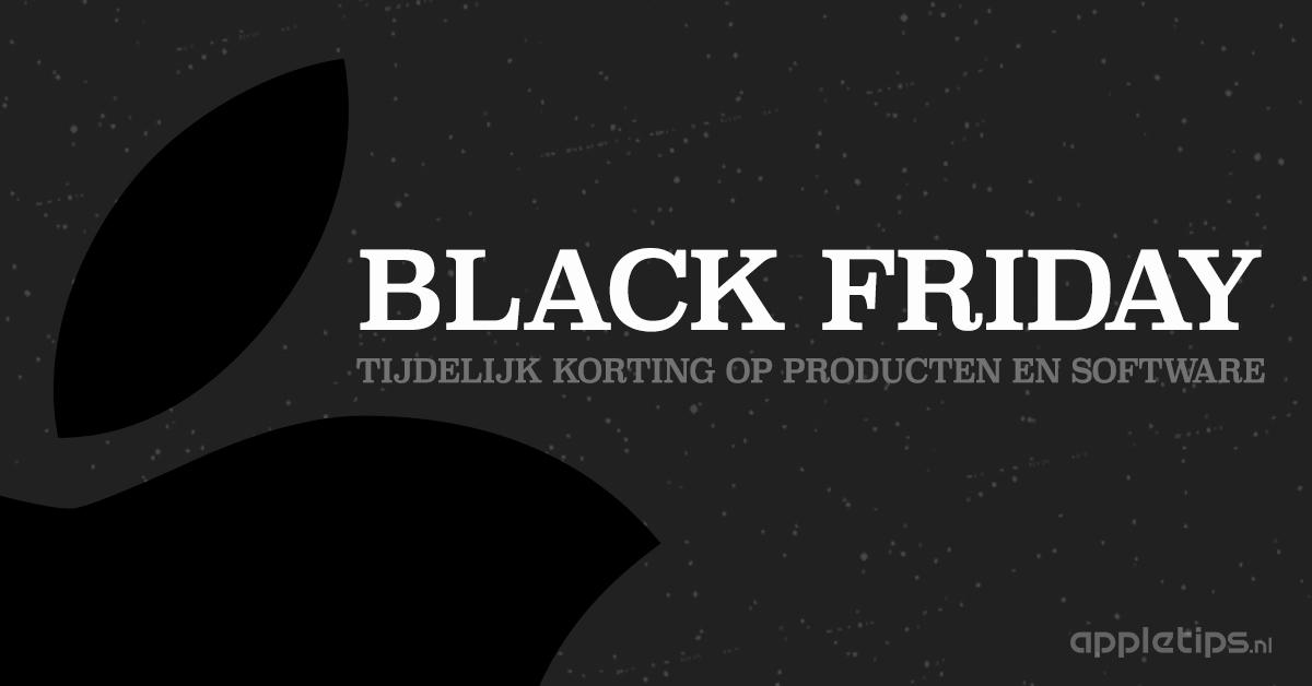 1edc9b1711d Black Friday 2018: Korting op veel (Apple) producten 🖤🔥 - appletips