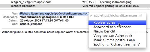 mail-adres-kopieren