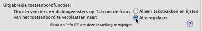 toetsenbordfuncties-tab