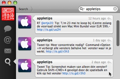 tweetie-appletips