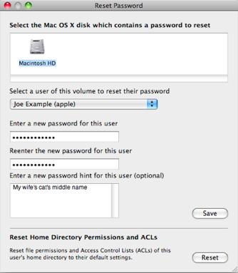 wachtwoord reset