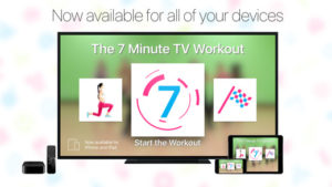 7 minute workout menu