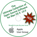 Ultimate Collection of Open Source Software for Mac OS X v2.0 Disc Label