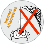Internet Alternatives Disc Label
