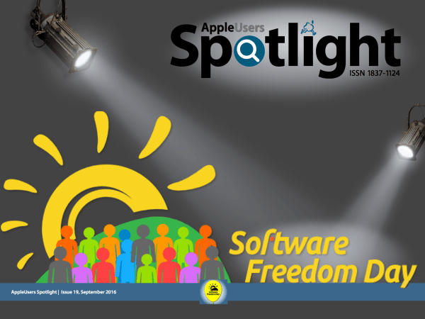 AppleUsers Spotlight FOSS 2016 Sampler Edition Cover
