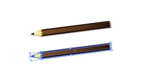 鉛筆 イラレ・ベクトルデータ・eps