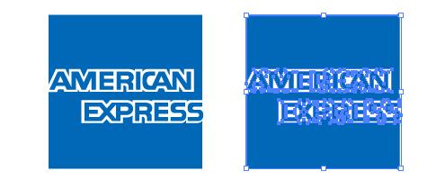 アメリカンエクスプレス AMEX ロゴ