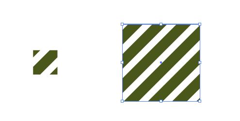 緑の斜線 パターン