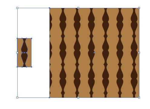 ヨーロッパの階段の手すりのようなパターン