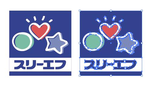 コンビニ スリーエフのロゴ