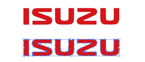 いすゞ自動車(ISUZU)のepsロゴ