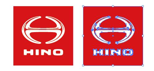 日野自動車株式会社(HINO)のロゴ