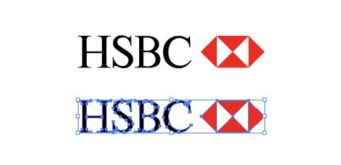 HSBCホールディングスのロゴ